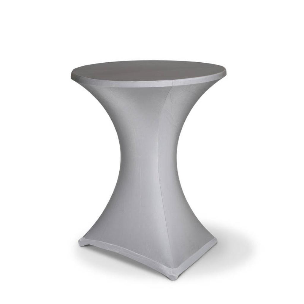 table mange debout nappe stretch noir rouge argent anthracite bleu marine marron mons event. Black Bedroom Furniture Sets. Home Design Ideas