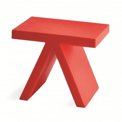 Location Tabouret Ou Table Basse Rouge (demande De Devis)